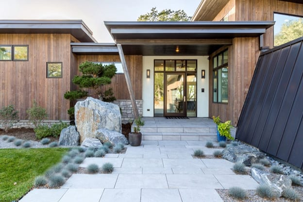 Modern Landscape Design Classic With A Twist