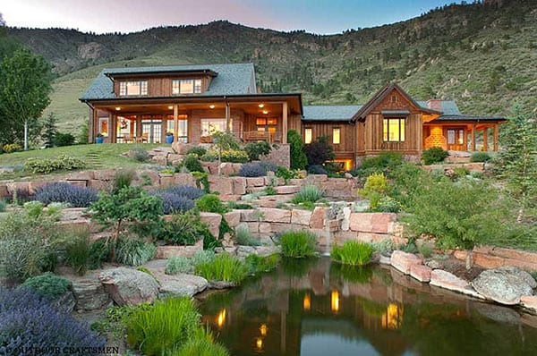 3 Colorado landscape pond