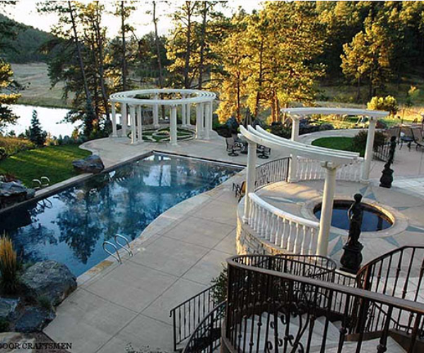 4 landscape luxury dream pool