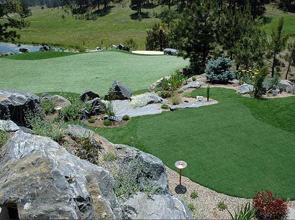 8 putting green personal private